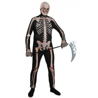 Disfraz Esqueleto Lycra lux adulto