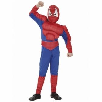 Disfraz Héroe Araña Musculoso niño