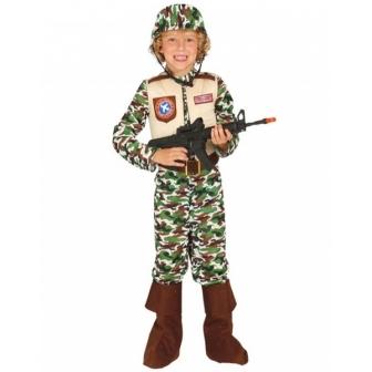 Disfraz fuerzas especiales para niño