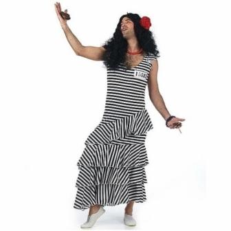 Disfraz Flamenca presa adulto