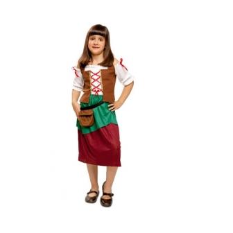 Disfraz Campesina Medieval Infantil