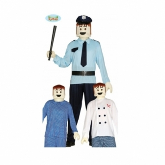 Muñeco Juguete : Cabeza y  Manos