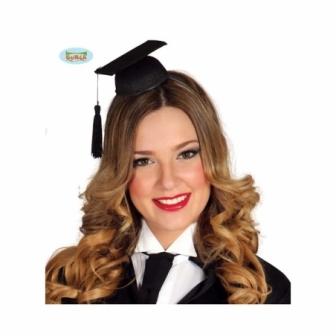 Mini Sombrero Estudiante Graduado