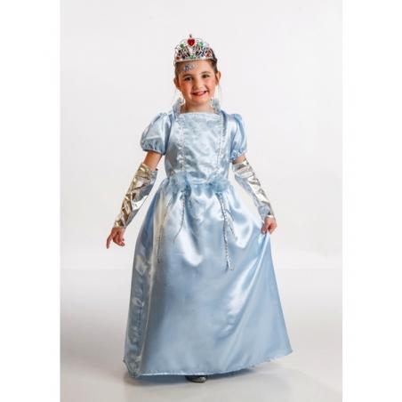 Disfraz Princesa azul para niña
