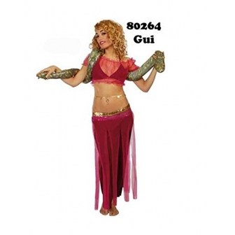 Disfraz Bailaria con serpiente mujer