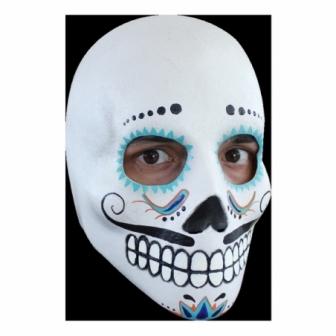 Day Of The Dead Catrin Deluxe Máscara