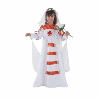 Disfraz Novia Medieval para niña