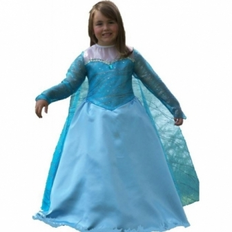 Disfraz Reina de Hielo niña lujo