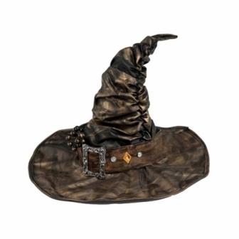 Sombrero Bruja con hebilla lujo