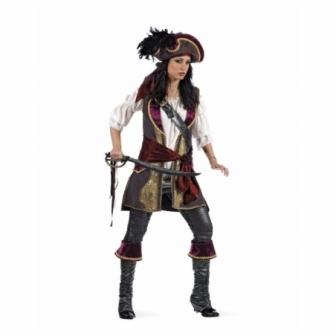 Disfraz Pirata Corsaria Cosette Lujo