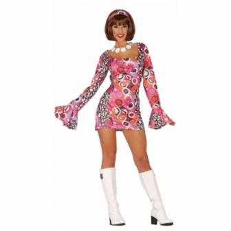 Disfraz Chica Disco Night mujer