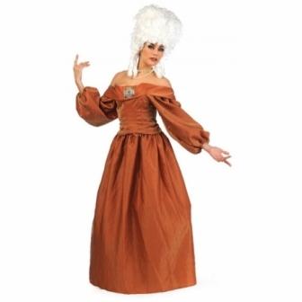 Disfraz Dama Época Constanza Lujo Mujer