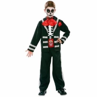 Disfraz Catrin negro para niño