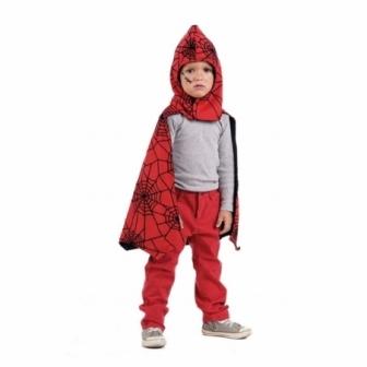 Capa Reversible Spider Batman Infantil