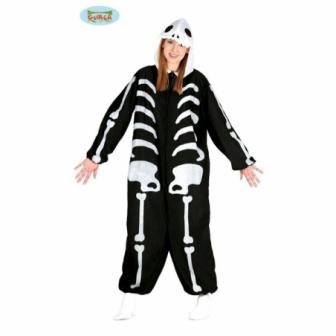 Disfraz Pijama Esqueleto Adulto