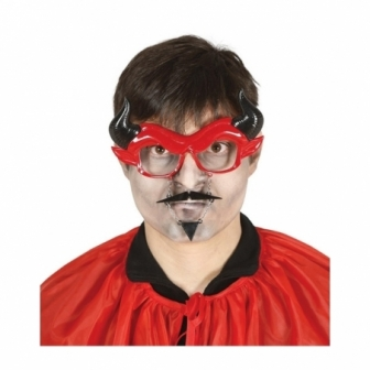 Gafas Demonio Con Bigote