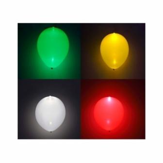 Paquete 5 Globos Luz Led
