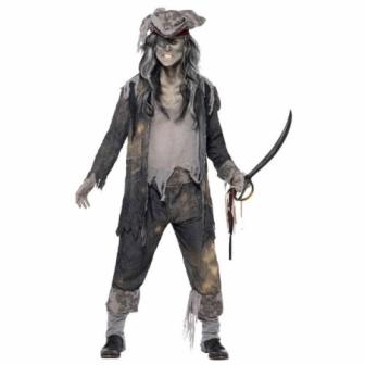 Disfraz de Pirata Fantasma  Hombre