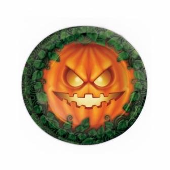 Bolsa 8 Platos 23cm Halloween