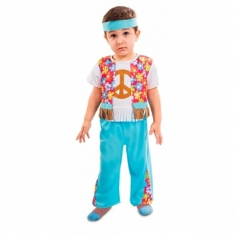 Disfraz Hippie bebe