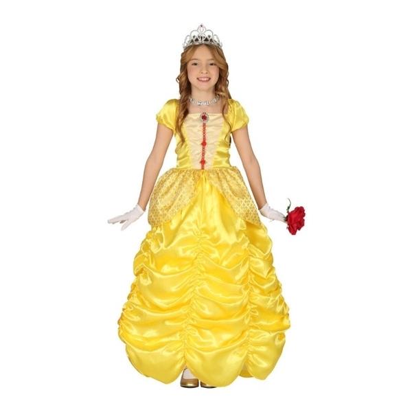 Disfraz  Princesa amarilla para niña