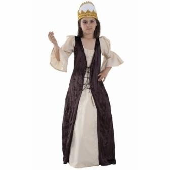 Disfraz Princesa medieval para niña