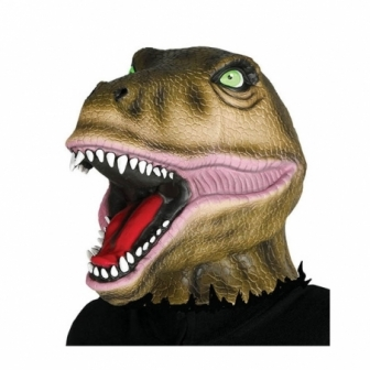 Máscara Dinosaurio  Látex