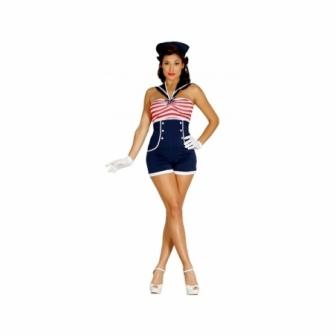 Disfraz Sailor Pin Up Mujer