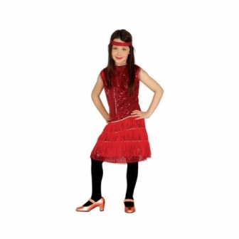 Disfraz charlestón para niña