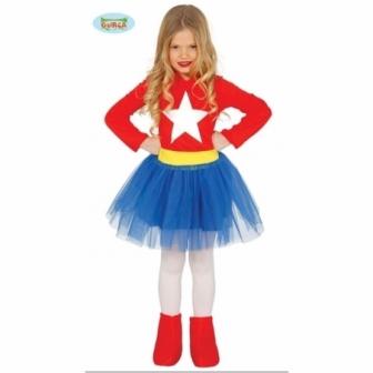 Disfraz superchica para niña