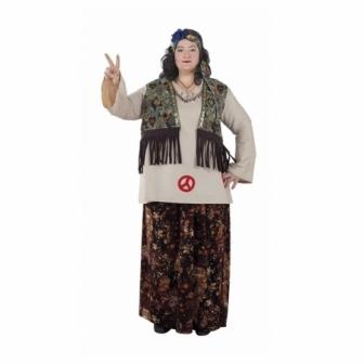 Disfraz Hippie Mujer Adulta