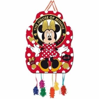 Piñata Perfil Minnie Gold