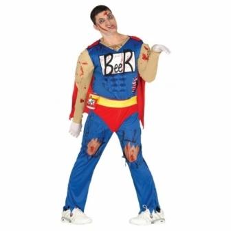 Disfraz Beerman Zombie para hombre