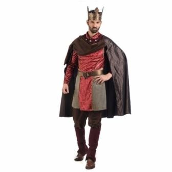 Disfraz Medieval Carlos hombre deluxe