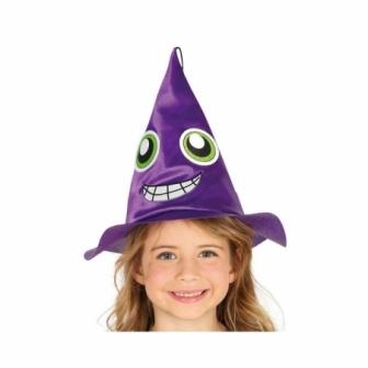 Sombrero Bruja lila infantil