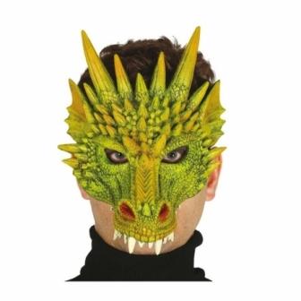 Media careta dragón foam