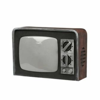 Television antigua  31.5x22 cm