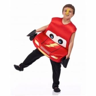 Disfraz  Coche rojo infantil