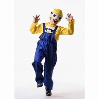Disfraz de Villano amarillo infantil