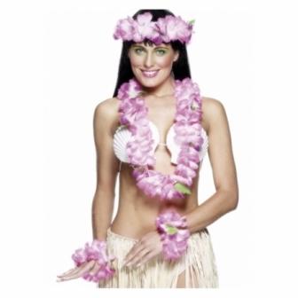 Set Hawaiano Rosa Lux