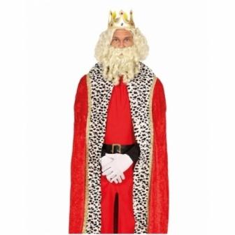 Capa Roja de Rey adulto 150cm