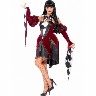 Disfraz Arlequin Gotica para mujer