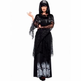 Disfraz Bruja negra mística deluxe