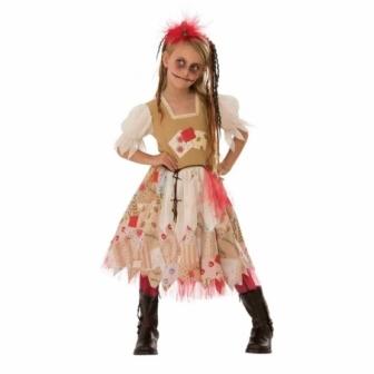 Disfraz Voodoo para niña