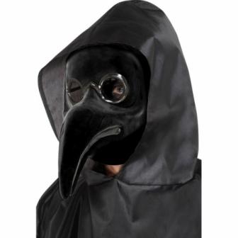 Máscara auténtica  Doctor  Peste negra