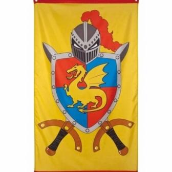Bandera decoración medieval(150x90cm)