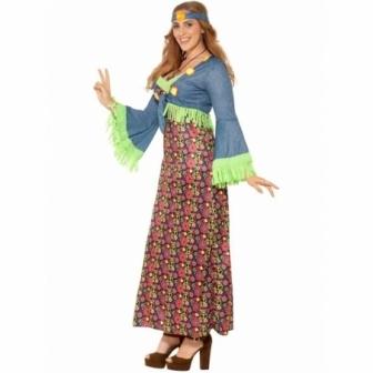 Disfraz Hippie mujer  adulto XXL