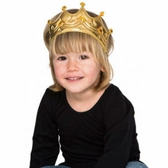 Corona para Rey Dorada