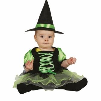 Disfraz Bruja bebé Tutú verde