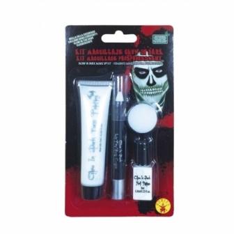 Kit Maquillaje brillo en oscuridad
